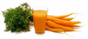 Морковь и морковный сок незаменим