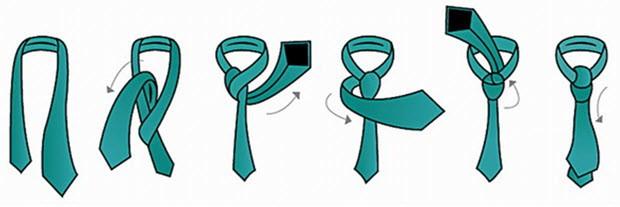 Как завязать галстук любимому мужчине