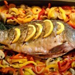 Как вкусно запечь речную рыбу