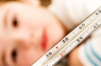 Как снять температуру народными методами
