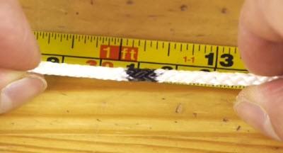 Как отрезать веревку без ножа и ножниц