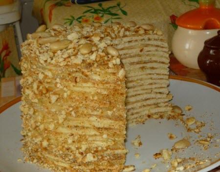 Как сделать «быстрый» торт на сковородке