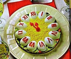 Новогодние салатики