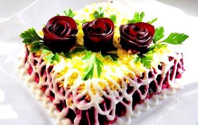 Полезные витаминные рецепты салатов из свеклы