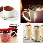 Вкусные рецепты горячего шоколада