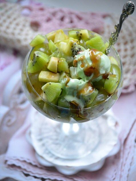 Фруктовый салат Изумруд