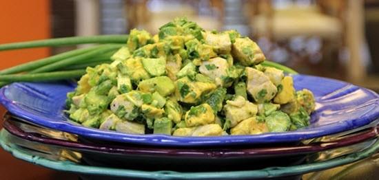 Оригинальный рецепт салата из авокадо
