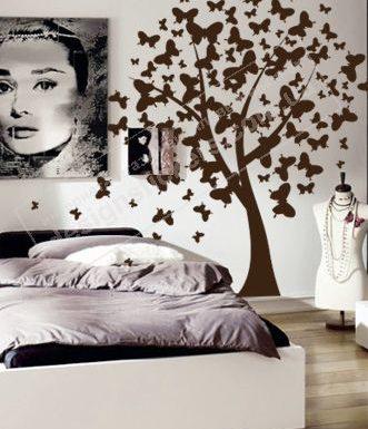 Стильный декор квартиры — виниловые наклейки на стены