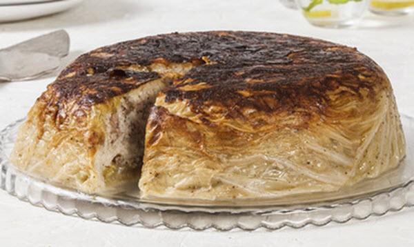 Пирог с савойской капустой