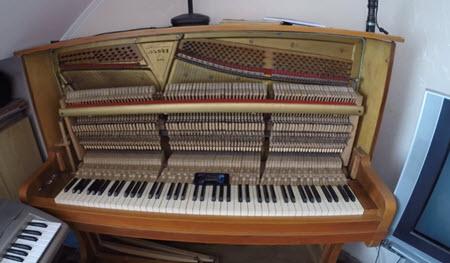 Как настроить и ухаживать за пианино