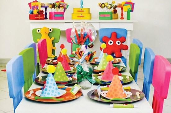 Детский праздничный стол