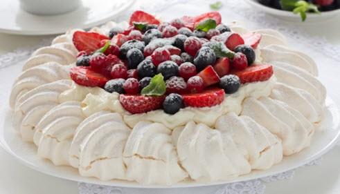 Фруктовый Радужный десерт