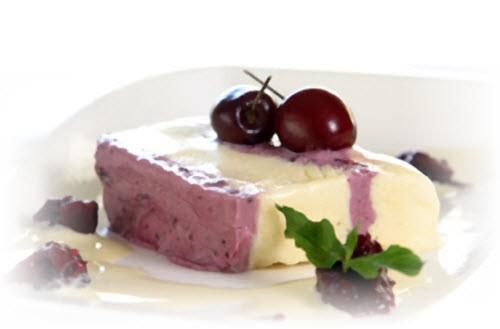 Десерт Вишня в геле