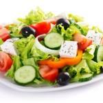 Греческий салатик