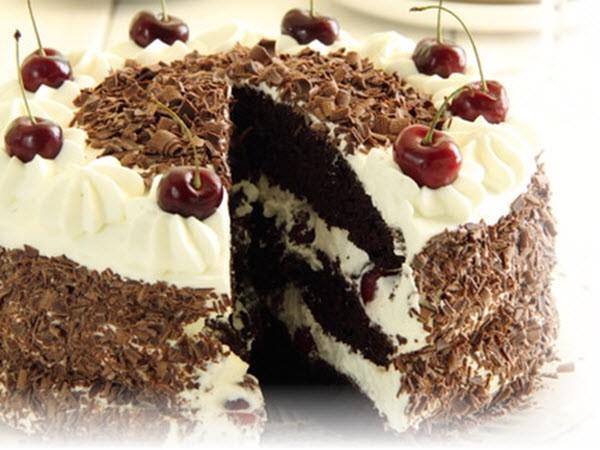 Диетический торт «Вишневое наслаждение»