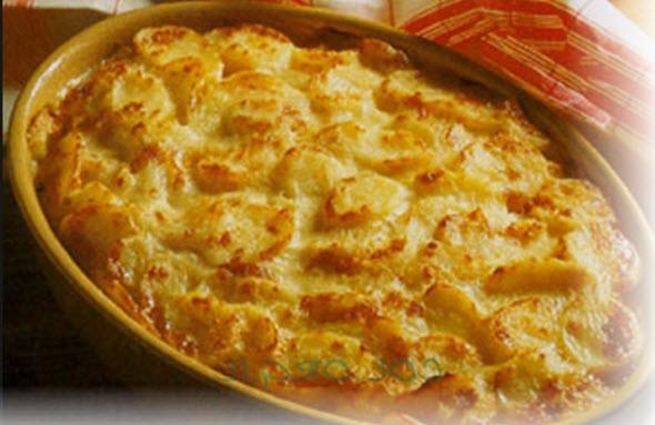 Картофельная запеканка по-испански