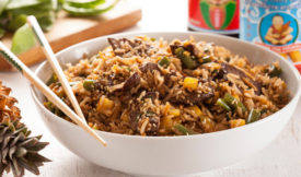 Свинина по-китайски с рисом