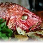 Рыба с вишней