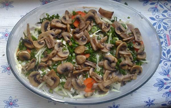Рецепт куриных отбивных, запеченных в духовке с сыром и грибами