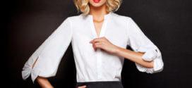 Как и с чем носить женскую белую рубашку?