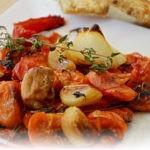 Запеченные овощи для легкого ужина!