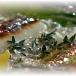 Греческий суп с дорадой на ужин!