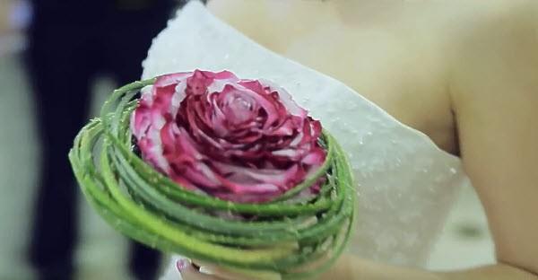 Свадебная флористика, букет для невесты