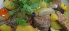 Вкусный, полезный ужин — Мясо с овощами в рукаве.
