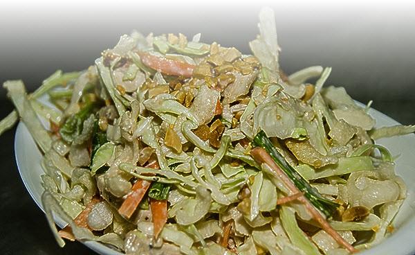 Рецепт быстрых и сытных салатов