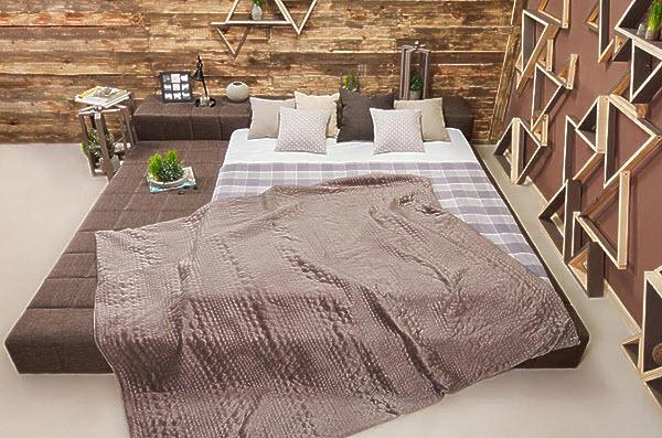 Аксессуары спальной комнаты для расслабляющего сна.