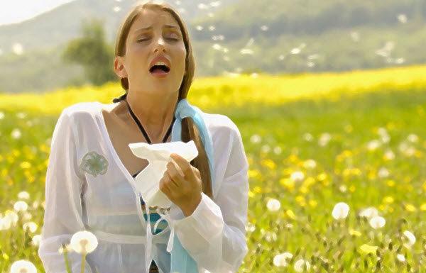 Первые симптомы при аллергической реакции