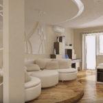 Изящные идеи стильного оформления гостиной