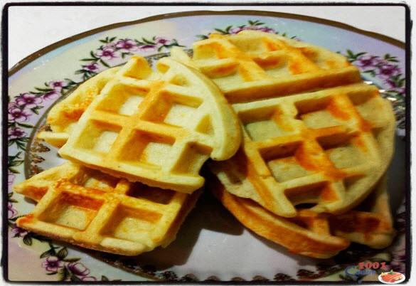Рецепт: Бельгийские Вафли правильного питания