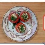 Фаршированные помидоры правильного питания