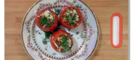 Рецепт: Фаршированные помидоры правильного питания!