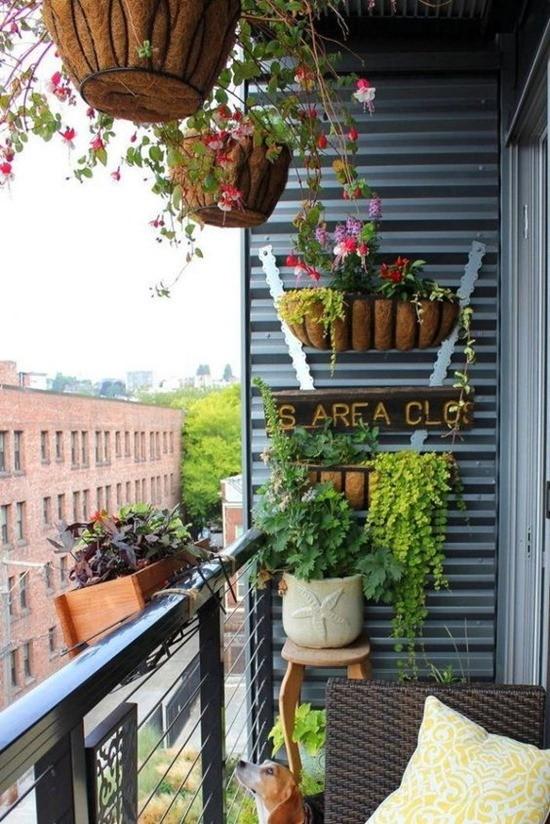 обустроить балкон