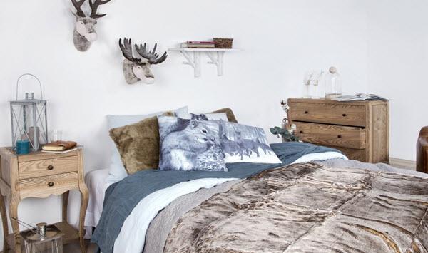 Скандинавский стиль в спальни