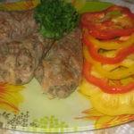 Вкусный, быстрый ужин для двоих: Фаршированные куриные ножки