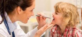 Тонзиллофарингит у детей, больных инфекционным мононуклеозом