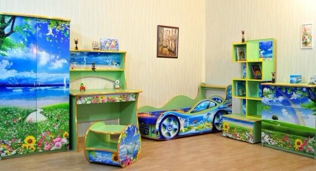 При выборе детской мебели