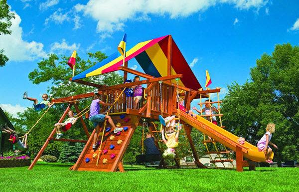 Детский комплекс для дома! Как правильно выбрать?