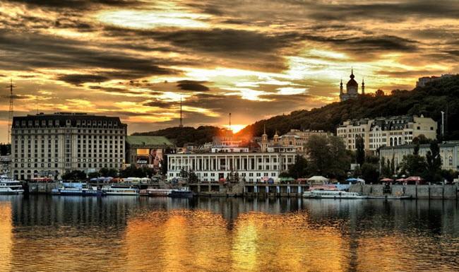 Летний отдых в Киеве, популярные места среди туристов
