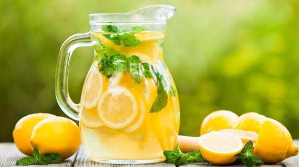 лимонную воду