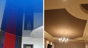 В чем отличие между тканевым и пленочным натяжным потолком?